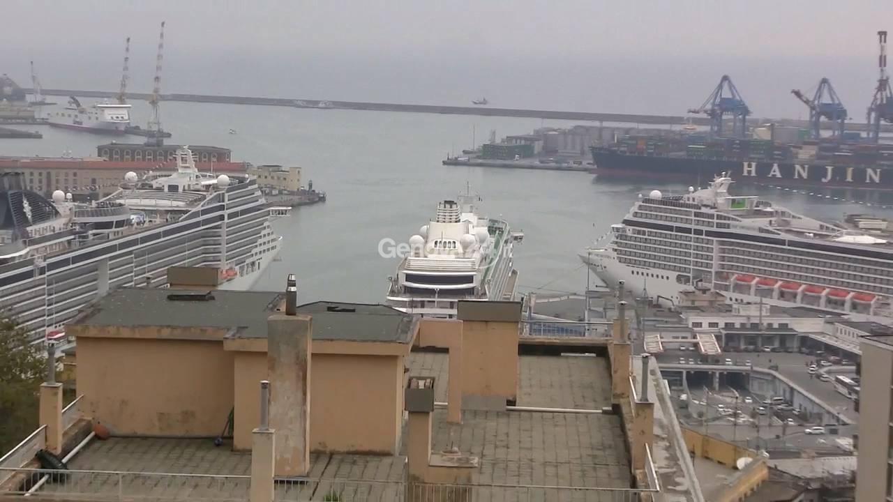 Porto genova crociere msc