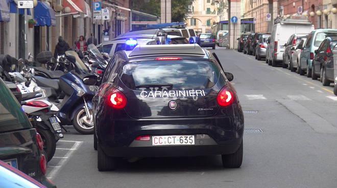Savona Carabinieri via Guidobono