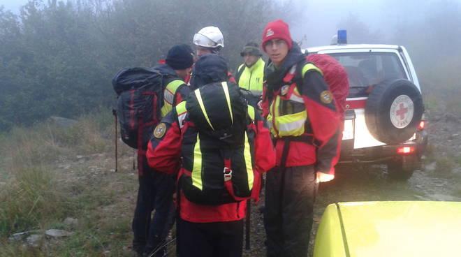 soccorso alpino ricerca disperso