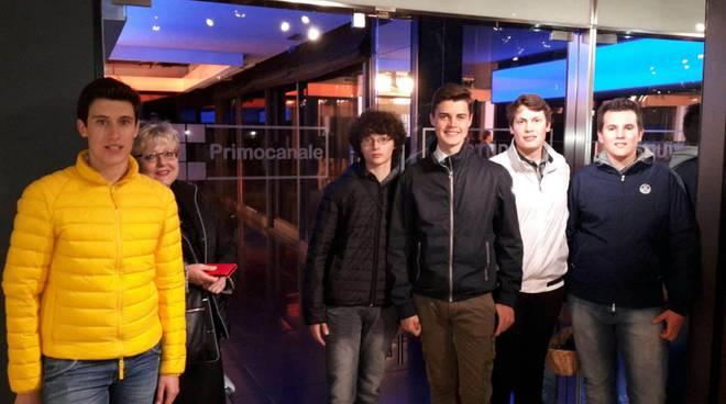 studenti liceo calasanzio tv