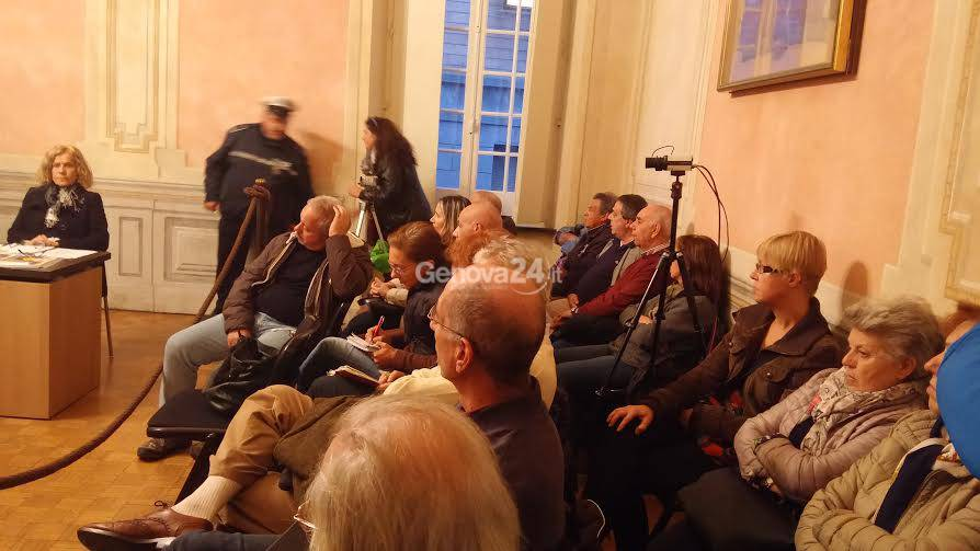 Terzo Valico, protesta in consiglio a Campomorone