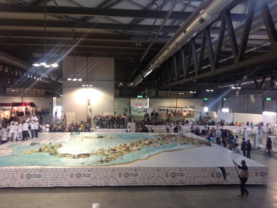 torta più grande del mondo record
