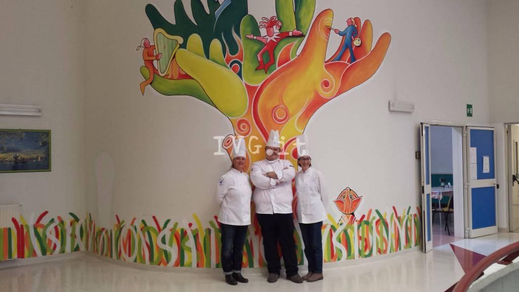 Cuochi donazione Unità Spinale Santa Corona