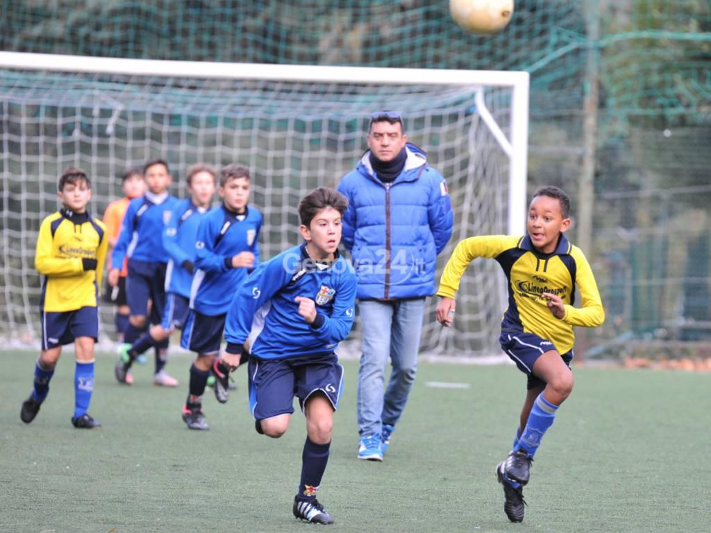 Calcio pulcini leva 2005 Polis Genova- San Michele