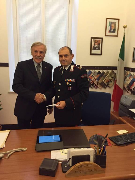 carabinieri portafoglio smarrito