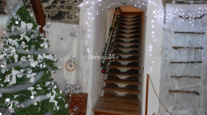 Casetta Di Natale Da Colorare : Partenza col botto al castello di babbo natale a camogli genova