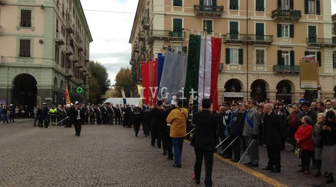 Celebrazione per il 4 Novembre a Savona