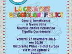 Cena di beneficenza per la Guardia Medica Pediatrica