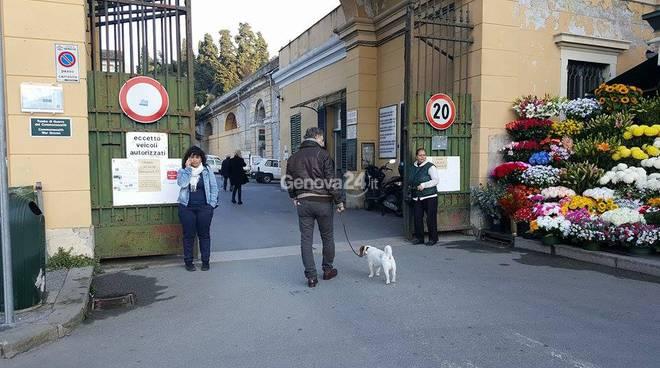 cimitero staglieno cane