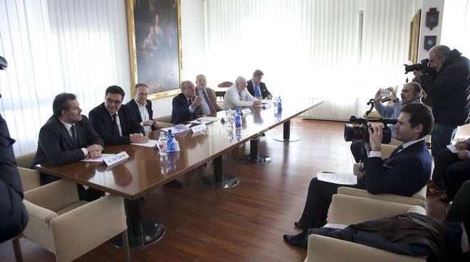 Conferenza stampa tra Galliera e Iit