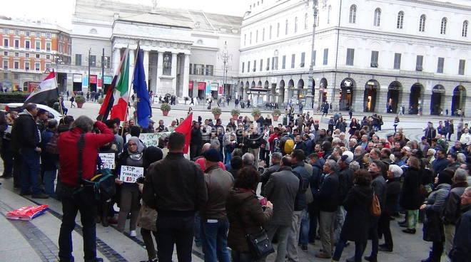 Genova, musulmani in piazza contro il terrorismo