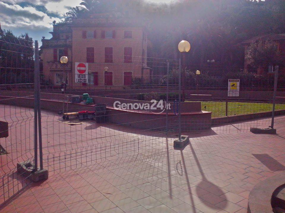Giardini di via Langano a Rapallo