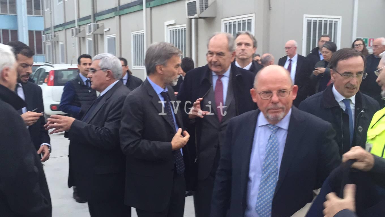 La visita del ministro Delrio a Savona