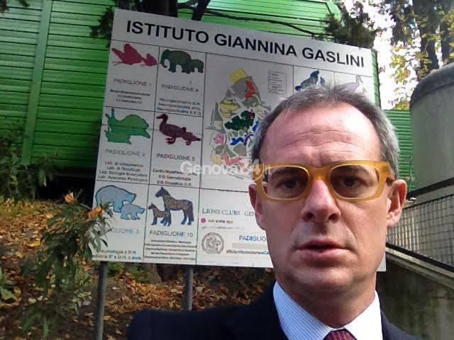 Matteo Rosso al Gaslini