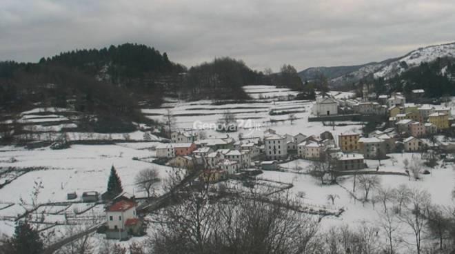 Neve a Pietranera di Rovegno