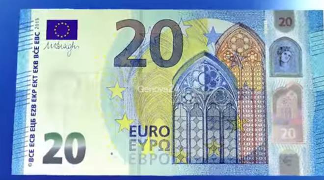 nuova banconota 20 euro