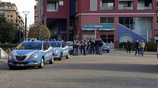 Polizia alla Fiumara