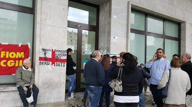 protesta amianto