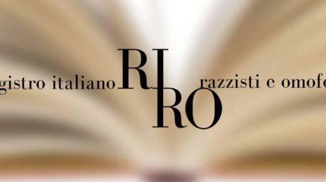registro italiano razzisti e omofobi riro