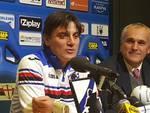 Sampdoria, presentazione di Montella