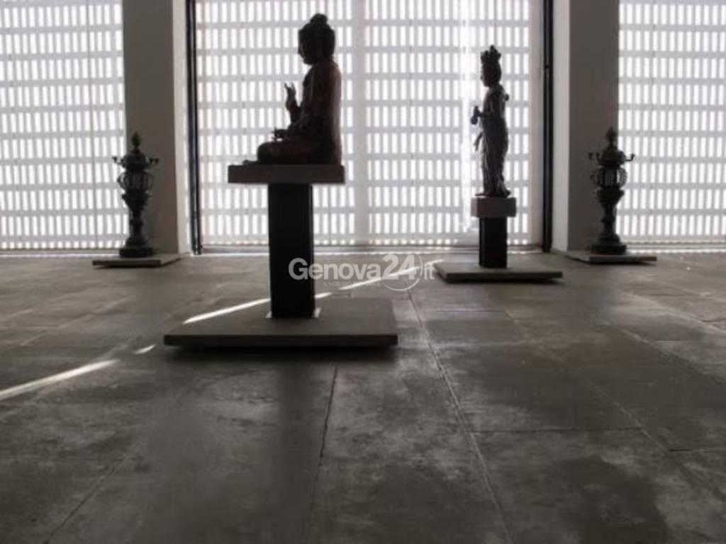 Samurai al museo Chiossone