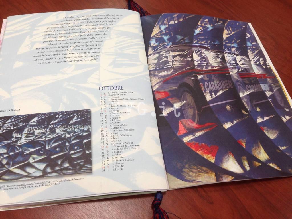 Savona, la presentazione del calendario dell'Arma