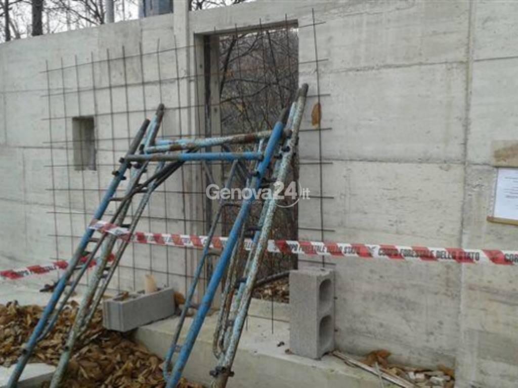 Sequestro discarica abusiva ed edificio a Torriglia