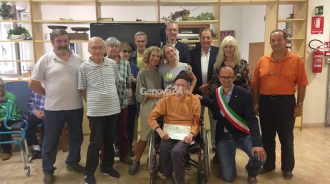 Tito Bonato dona le sue maschere al Comune