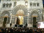 Apertura della Porta Santa della cattedrale