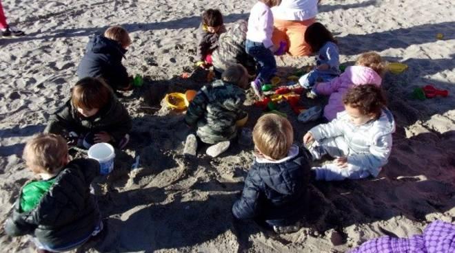 asilo nido piccolo principe alassio spiaggia