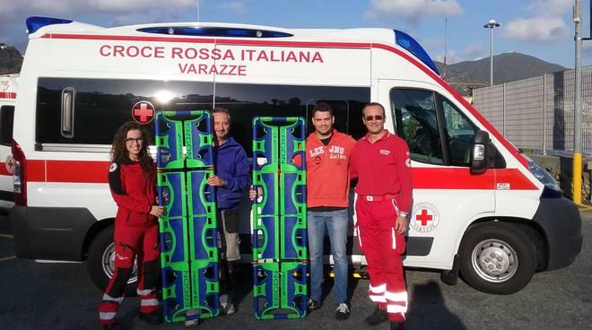 barelle Croce Rossa Varazze Associazione Bagni Marini