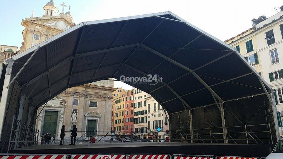 capodanno 2016 piazza matteotti palco