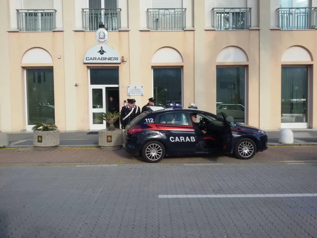 Arresto Albenga Carabinieri