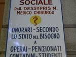 Dentista sociale nei vicoli