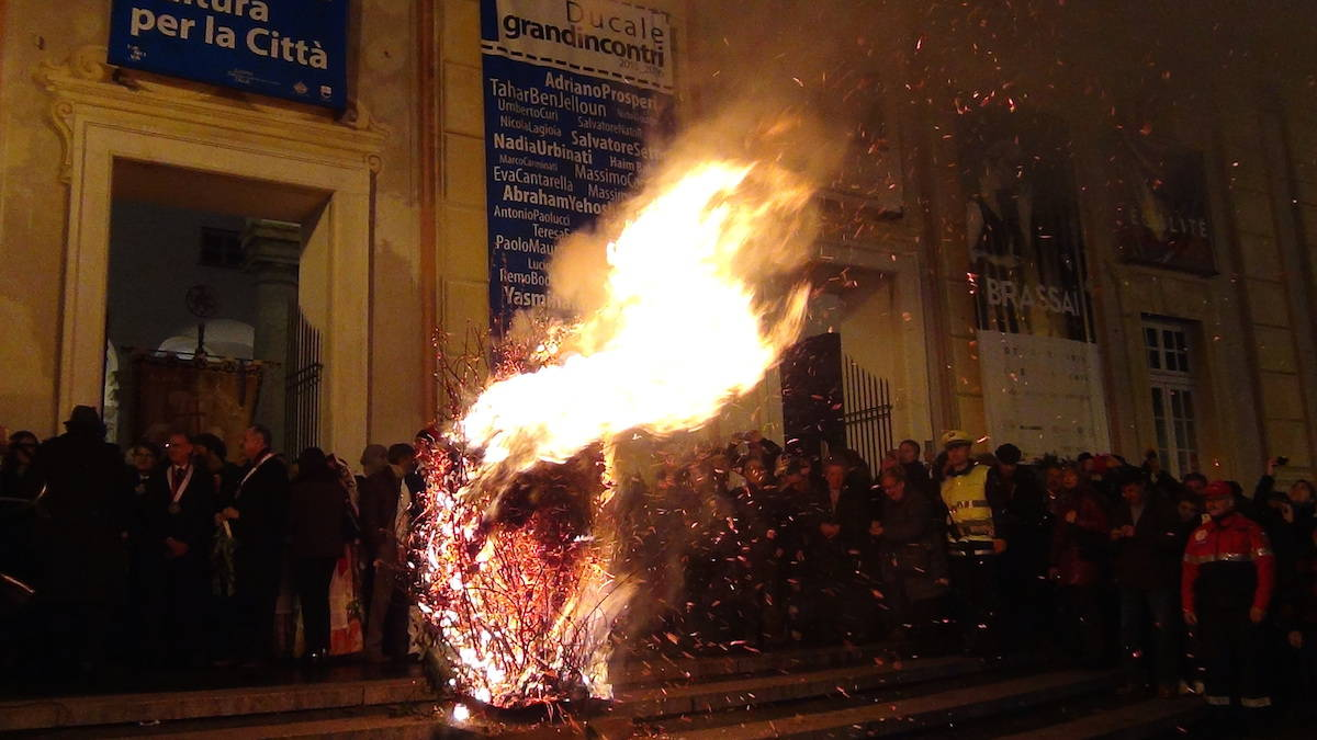 Genova, la cerimonia del Confeugo