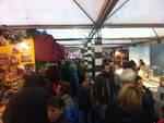 Il corteo storico inaugura il mercatino di San Nicola