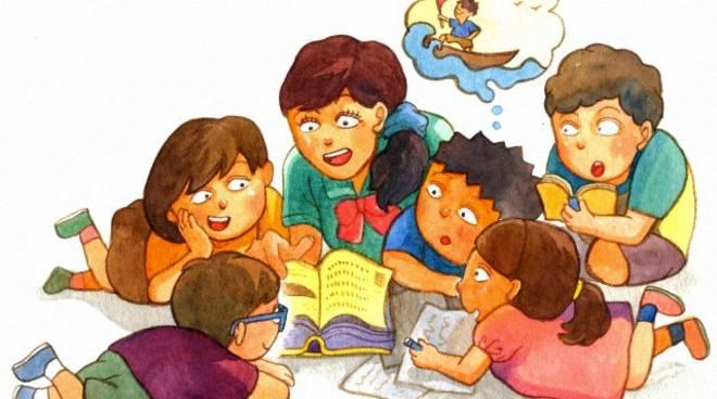 lettura storie bambini