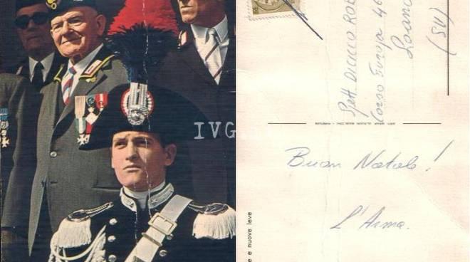 Loano, cartolina d'auguri recapitata oltre 50 anni dopo