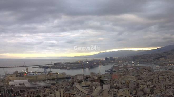 Maccaja su Genova