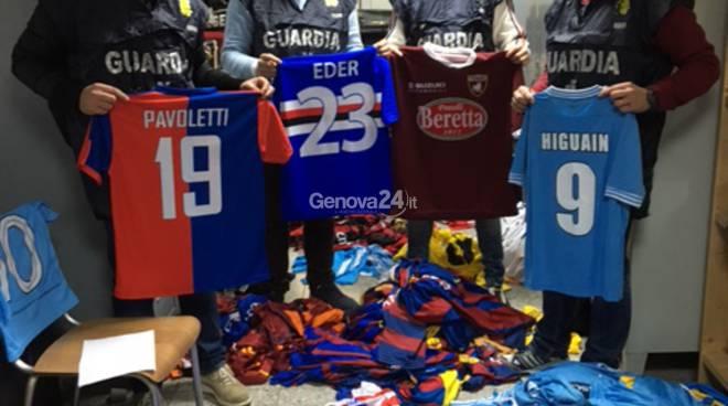 completo calcio Sampdoria merchandising