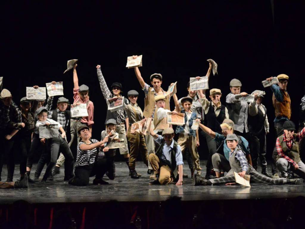 newsies musical day nati da un sogno off dance nds