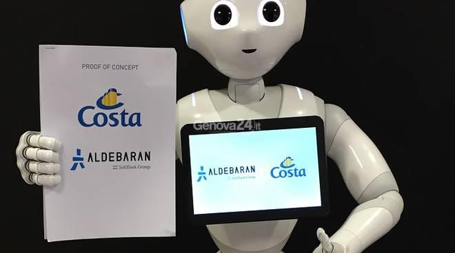 Pepper, il robot sulle navi Costa