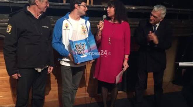 Premio sportivo dell'Anno a Erica Musso e Francesco Bocciardo