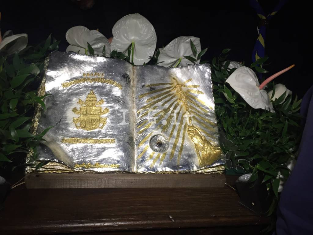 reliquie san giovanni paolo papa karol wojtyla