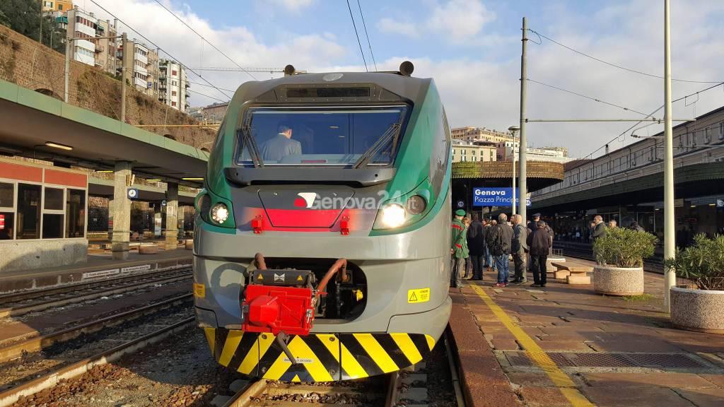 treno veloce genova-milano