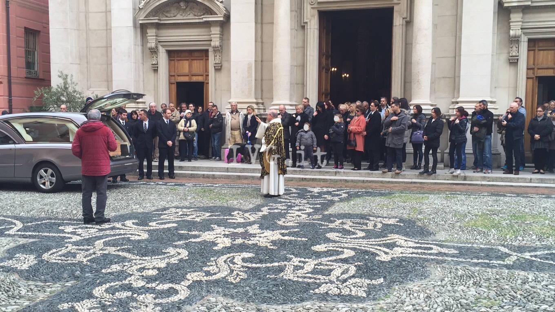 Varazze, l'ultimo saluto a Riccardo Cinco