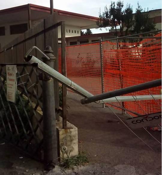 Loano Palo Stazione Crollo