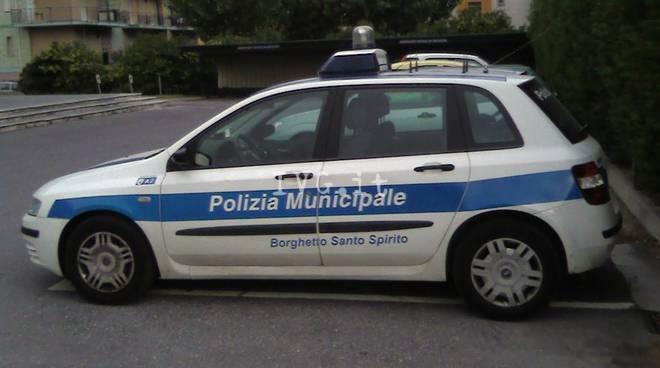 Borghetto Auto Vigili Municipale