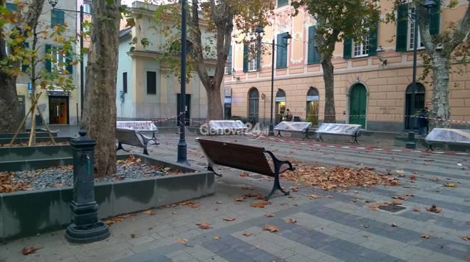 piazza baracca sestri ponente