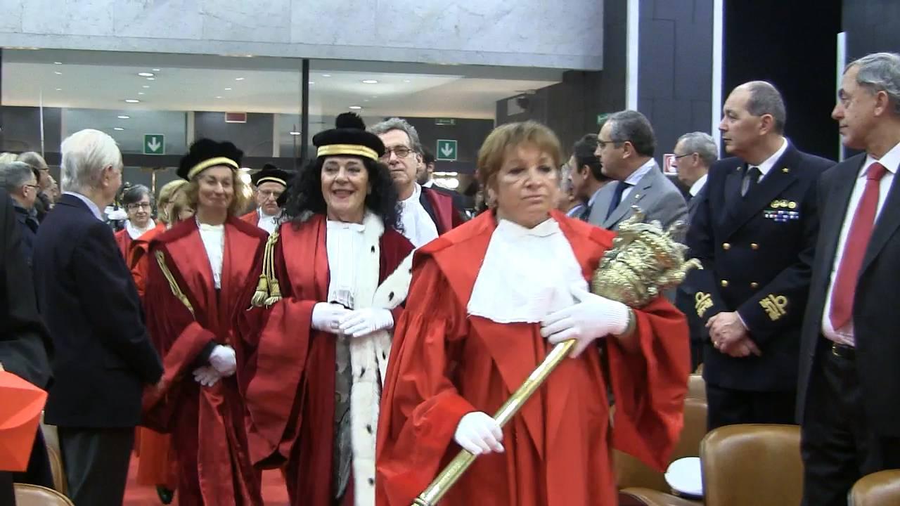 Anno giudiziario genova Bonavia